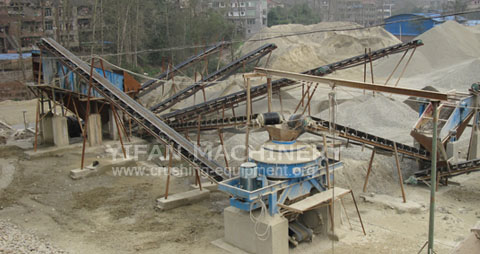 Gravel Production Line