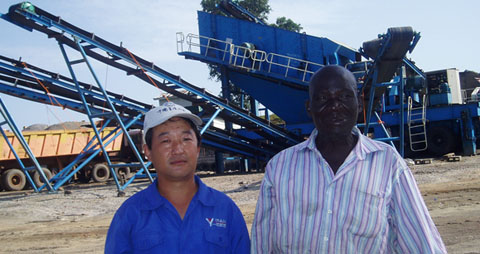 Mobile Crusher in Africa