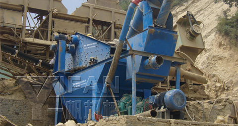 Sand Recorery System